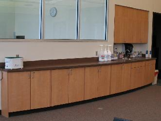 Custom Plastic Laminate Lab Casework